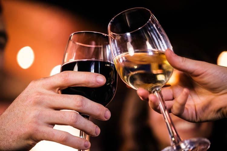 wine at our Minnesota B&B