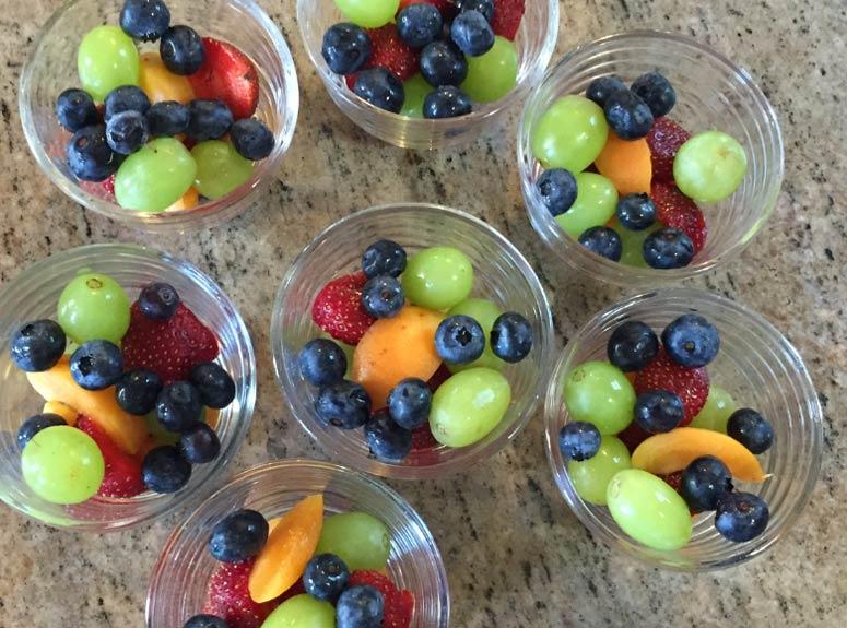 Fresh fruit at our Minnesota B&B