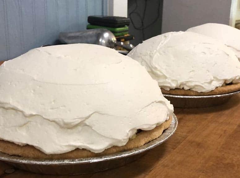 pie  at our Minnesota B&B