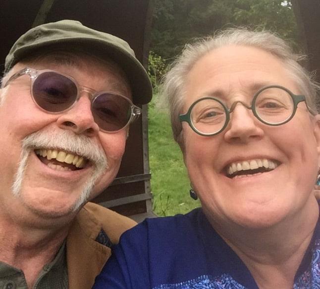 Mike & Chris, innkeepers at Moondance Inn Bed & Breakfast visit Ireland